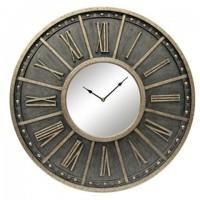 Peer - Champagne/Black - Wall Clock