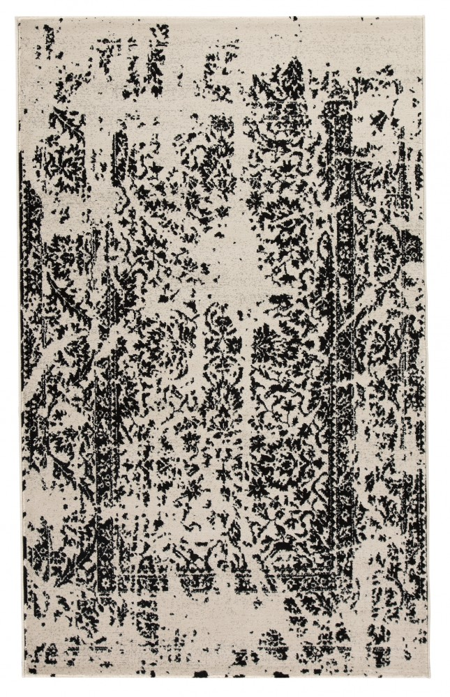Jag - Black/White - Large Rug