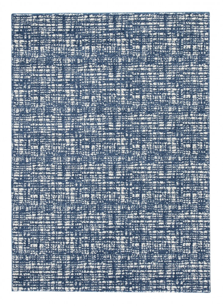 Norris - Blue/White - Large Rug