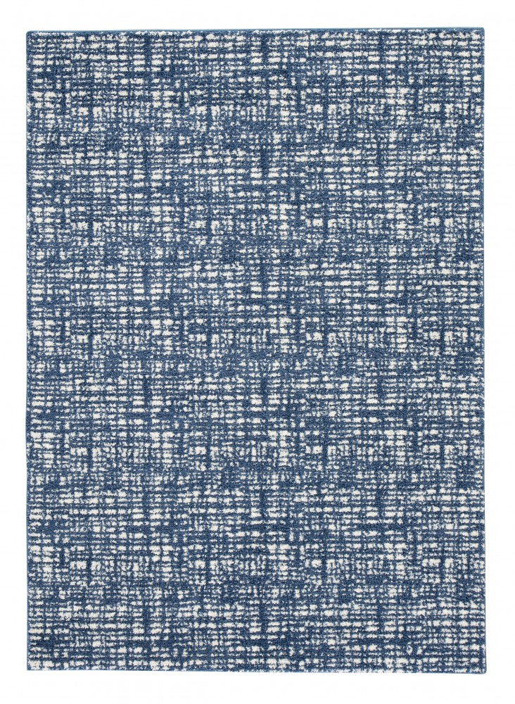 Norris - Blue/White - Medium Rug