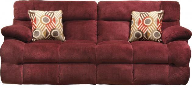 Power Headrest Lay Flat Reclining Sofa | 62041 | Reclining Power ...