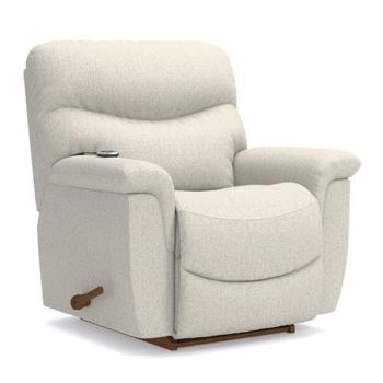 James Reclina-Rocker(R) Recliner w/ Two-Motor Massage & Heat
