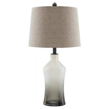 Nollie - Gray - Glass Table Lamp (2/CN)