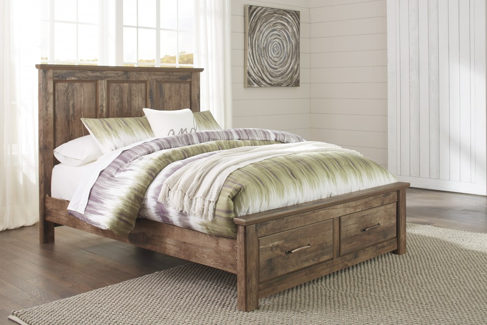 Blaneville Queen Panel Bed with Storage