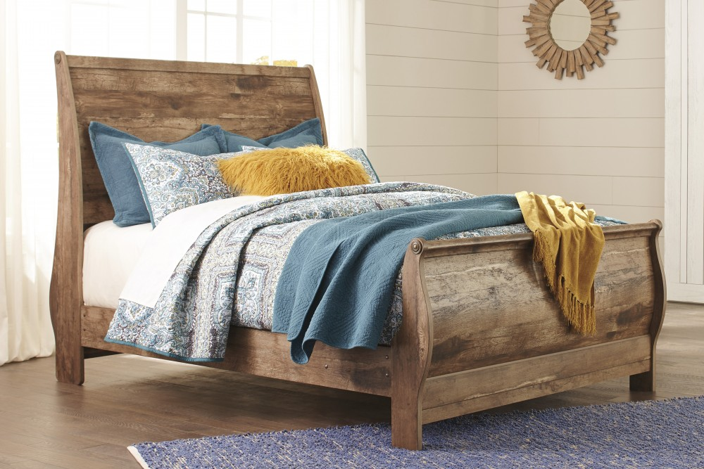 Blaneville Queen Sleigh Bed B224 77 74 98 Complete Beds Vergin