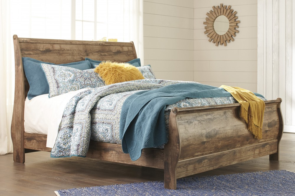 Blaneville King Sleigh Bed