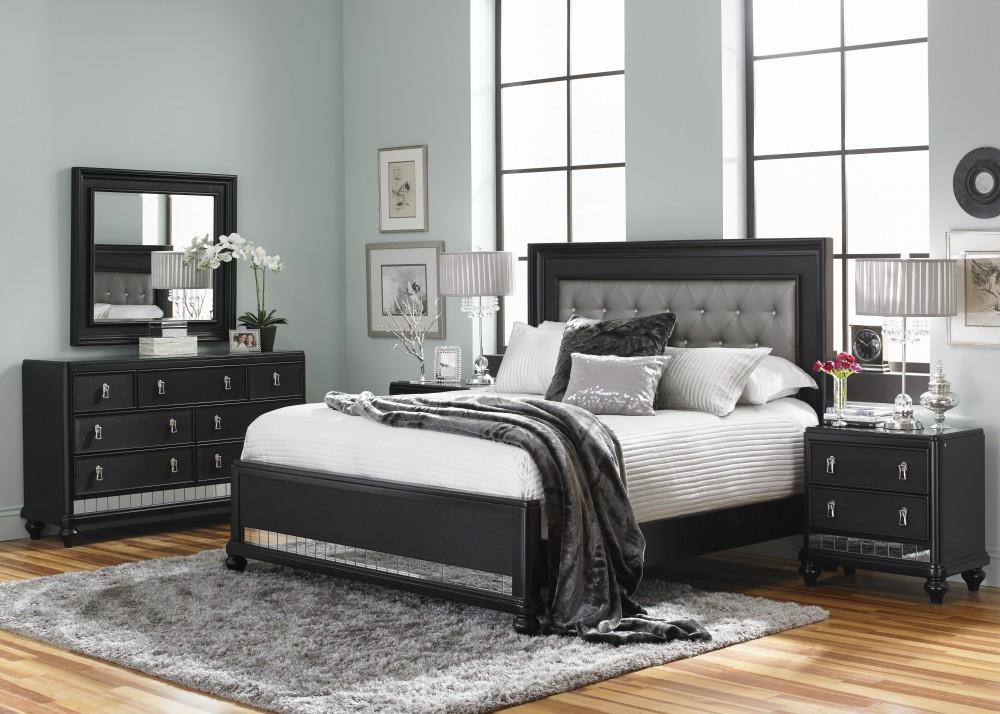 Diva Midnight Queen Bedroom Set   SL8809   Bedroom Groups ...