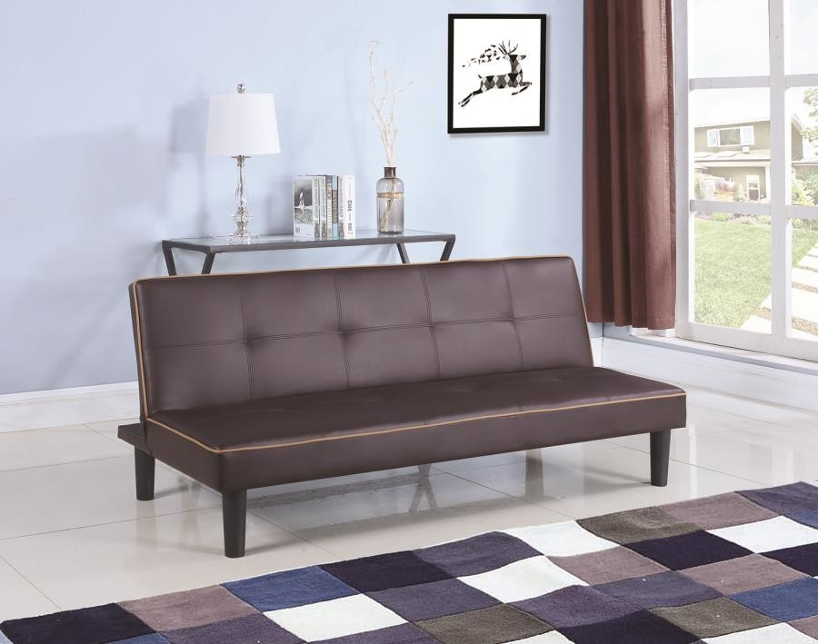 Brilliant Casual Brown Sofa Bed Squirreltailoven Fun Painted Chair Ideas Images Squirreltailovenorg