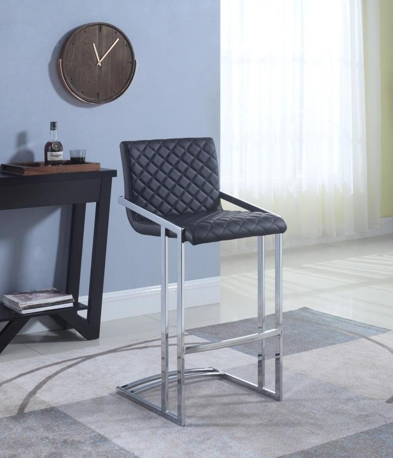 Brilliant Contemporary Black Bar Stool Lamtechconsult Wood Chair Design Ideas Lamtechconsultcom