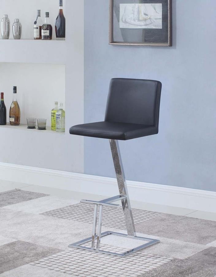 Amazing Contemporary Black Bar Stool Alphanode Cool Chair Designs And Ideas Alphanodeonline