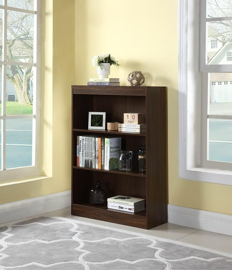HOME OFFICE : BOOKCASES   3 SHELF BOOKCASE
