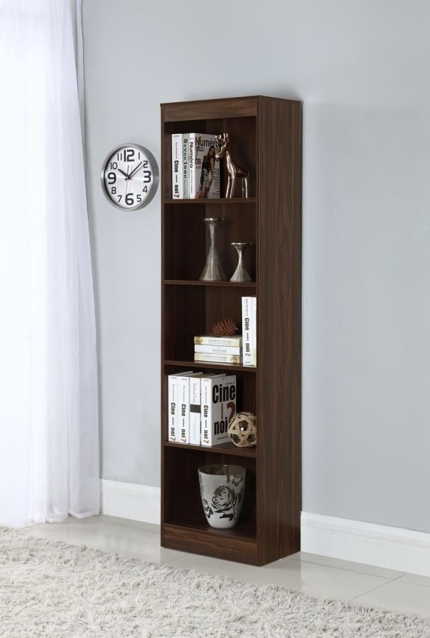 Bookcases For Home Office Inside Home Office Bookcases Shelf Narrow Bookcase 801809