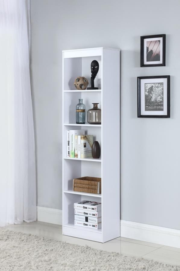 Charmant HOME OFFICE : BOOKCASES   5 SHELF NARROW BOOKCASE
