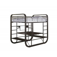 FULL / FULL WORKSTATION BUNK BED