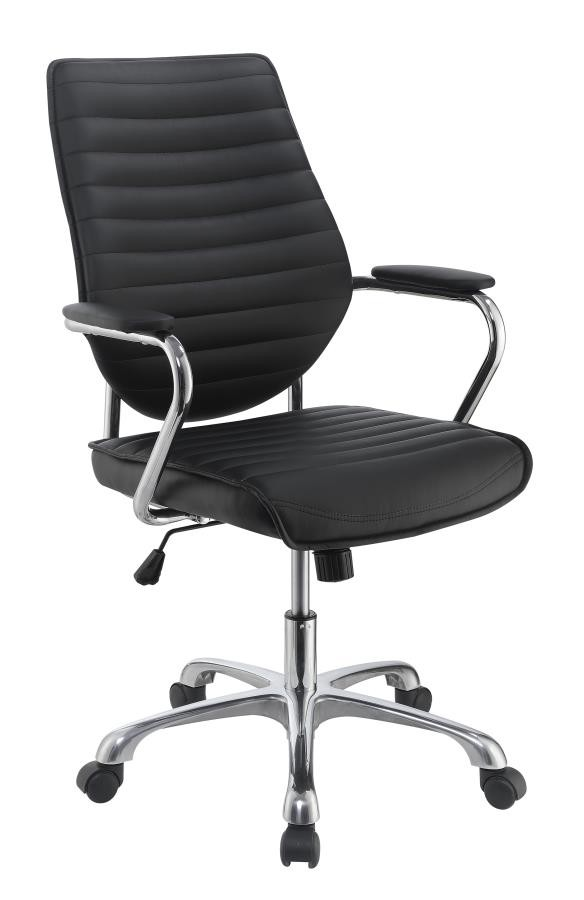 Home Office Chairs Contemporary Black High Back Office Chair 801327 Home Office Desk Chair Brady Home Furniture