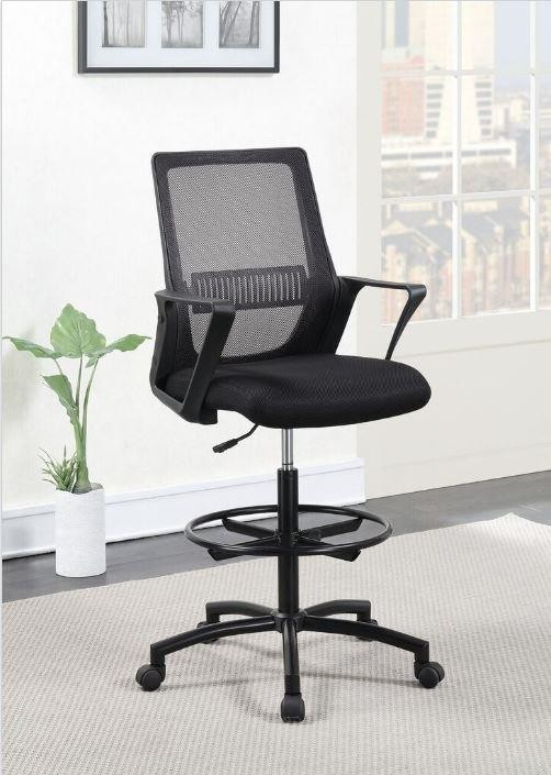 Home Office Chairs Contemporary Black Tall Office Chair 801339 Home Office Desk Chair Lily S Funiture And Mattress
