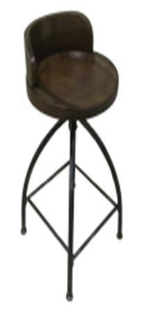 Tremendous Rustic Swivel Metal Counter Height Stool Pdpeps Interior Chair Design Pdpepsorg