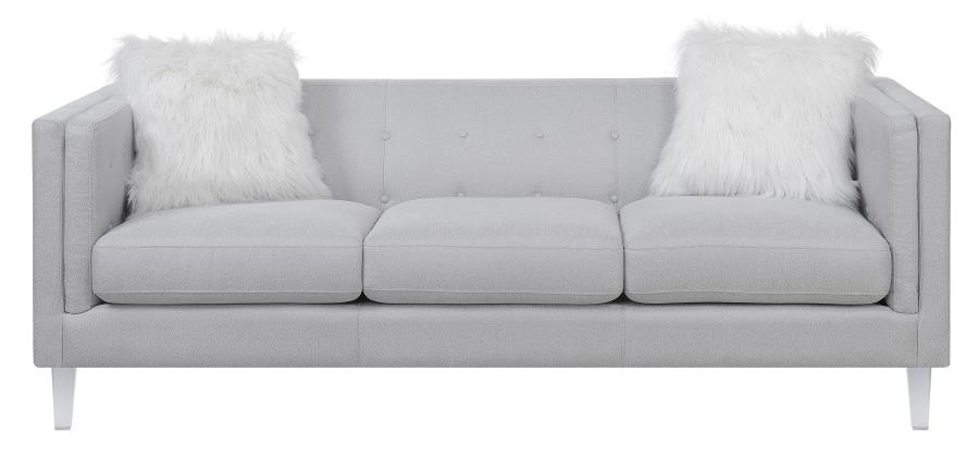 Hemet Light Grey Modern Sofa | 506211 | Sofas | Mike\'s Furniture