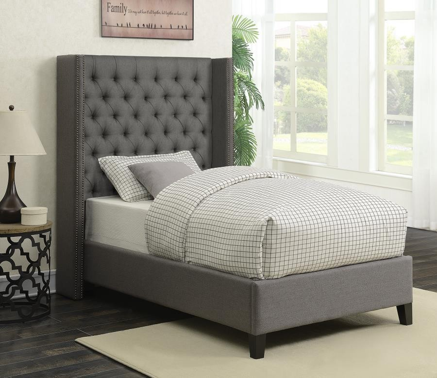 Twin Bed 300705t Complete Bed Sets Price Busters Furniture