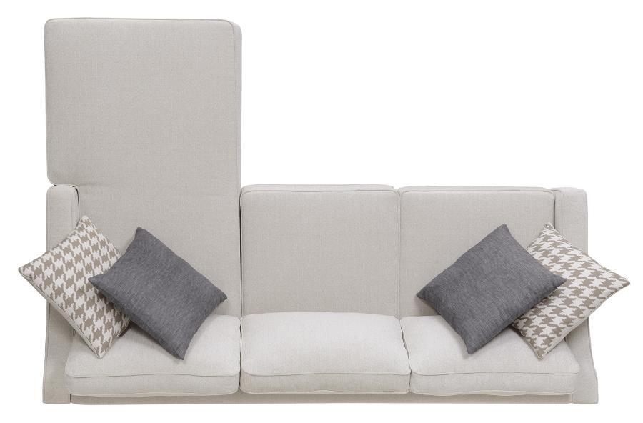 Montgomery Transitional Cream Sectional 501170