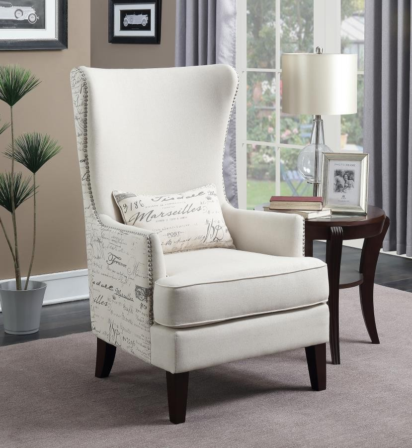 Accent chair 904047 living room chairs price busters furniture for Occasional chairs for living room
