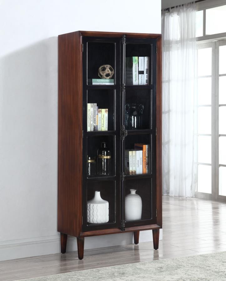 ACCENT CABINET TWO DOORS+GLASS & ACCENT CABINET TWO DOORS+GLASS | 950781 | Accent Cabinets | Vaughn ...