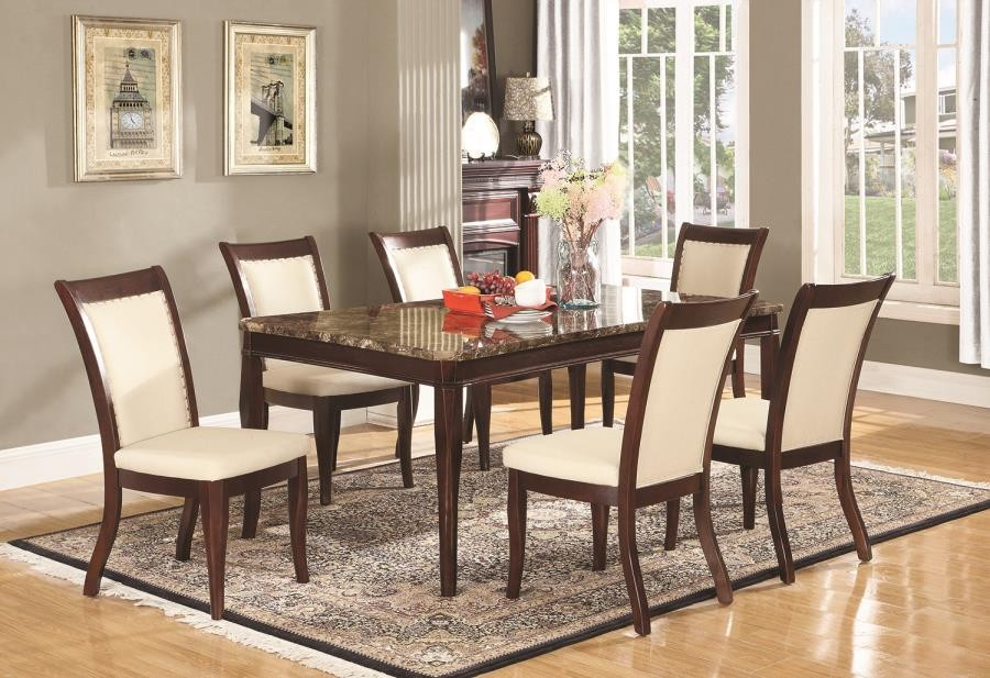Cornett Transitional White Dining Chair Pack Of 2 107712 Chairs 209 Furniture Ca