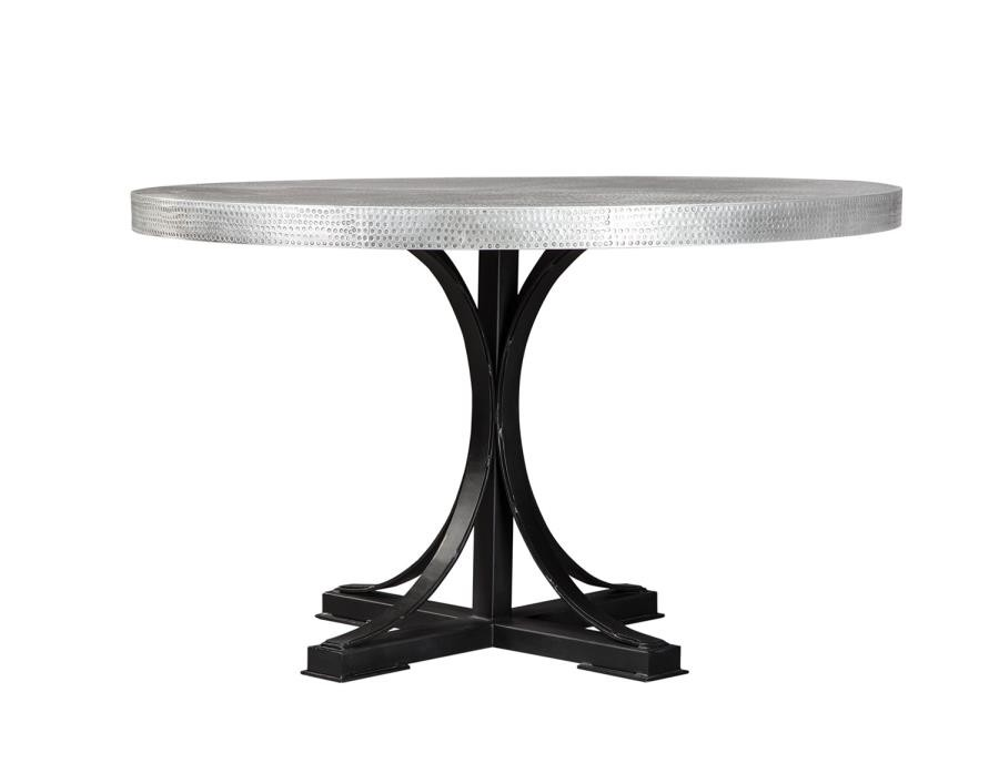 Dining Room Table With Zinc Top