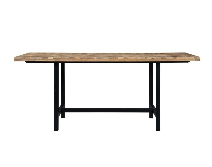 THOMSON -  Thompson Industrial Mango Wood Dining Table