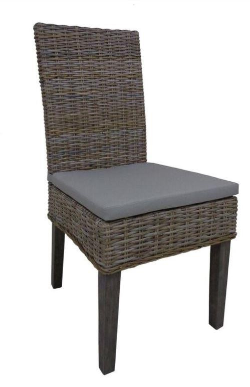 Rattan Dining Chair (Pack of 2)