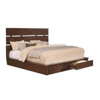ARTESIA COLLECTION -  Artesia Industrial Dark Cocoa Queen Bed