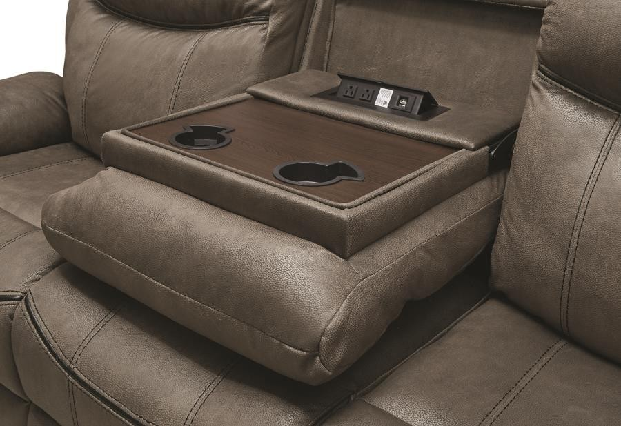 Sawyer Motion Collection Sawyer Transitional Taupe