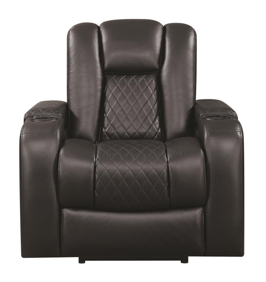 Marvelous Delangelo Motion Collection Delangelo Black Power Motion Recliner Machost Co Dining Chair Design Ideas Machostcouk