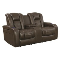 POWER2 LOVESEAT W/ CONSOLE