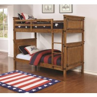 CORONADO COLLECTION - Coronado Rustic Honey Twin-over-Twin Bunk Bed