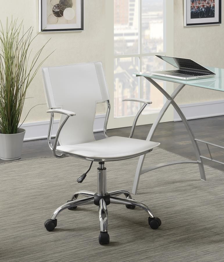 Home Office Chairs Contemporary White Office Chair 801363 Home Office Desk Chair Redemption Sales