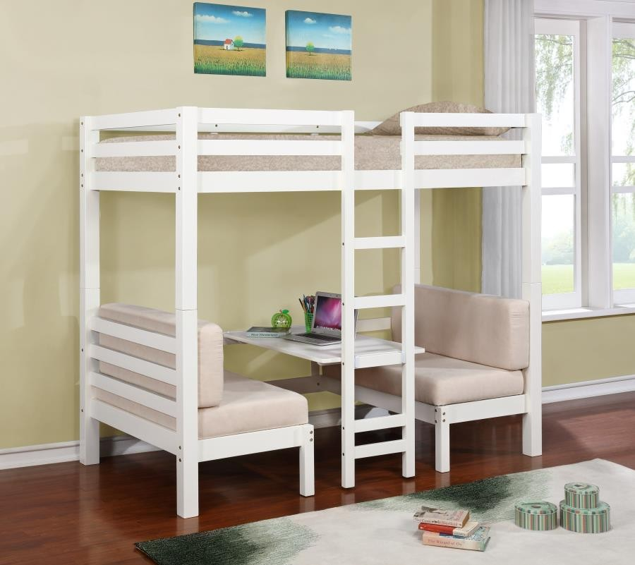 Joaquin Collection Bunk Bed 460370 Bunk Beds Furniture World