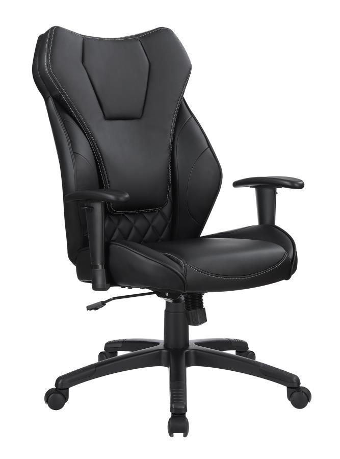 Contemporary Black High Back Office Chair | 802470 | Home Office Chairs |  Price Busters Furniture