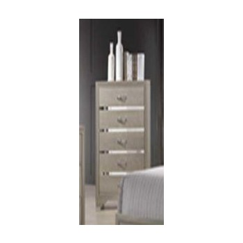 Beaumont Transitional Champagne Chest 205295 Chests