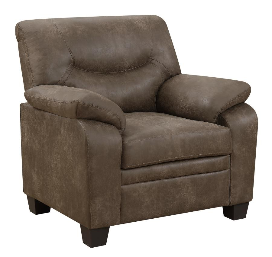 Meagan Casual Brown Chair