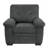 Fairbairn Casual Charcoal Chair