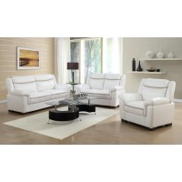 Arabella Contemporary Snow White Sofa