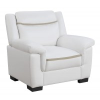 Arabella Contemporary Snow White Chair