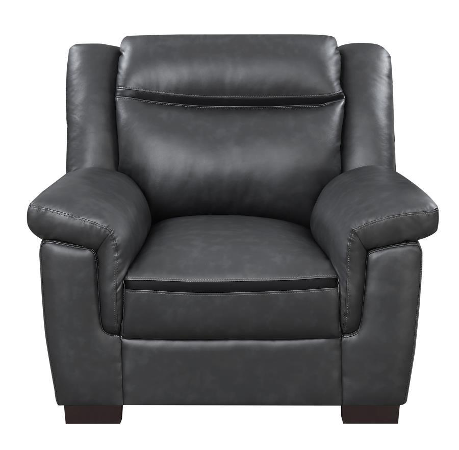 Arabella Contemporary Grey Chair