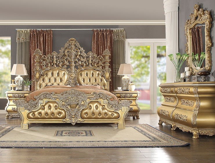 Luxurious Bellagio Bedroom Set | HD-13816 | Bedroom Groups ...