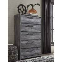 Baystorm - Gray - Five Drawer Chest