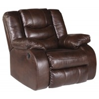 Neverfield - Chocolate - Rocker Recliner