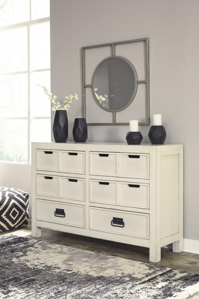 Blinton - White - Dresser