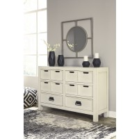 Blinton - White - Dresser