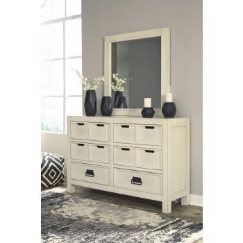 Blinton - White - Bedroom Mirror